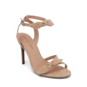 NWOT Accent Heeled Ankle Strap Sandals